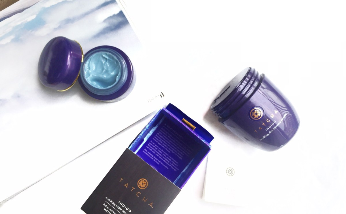 Tatcha Indigo Soothing Triple Recovery Cream & Soothing Rice Enzyme Powder