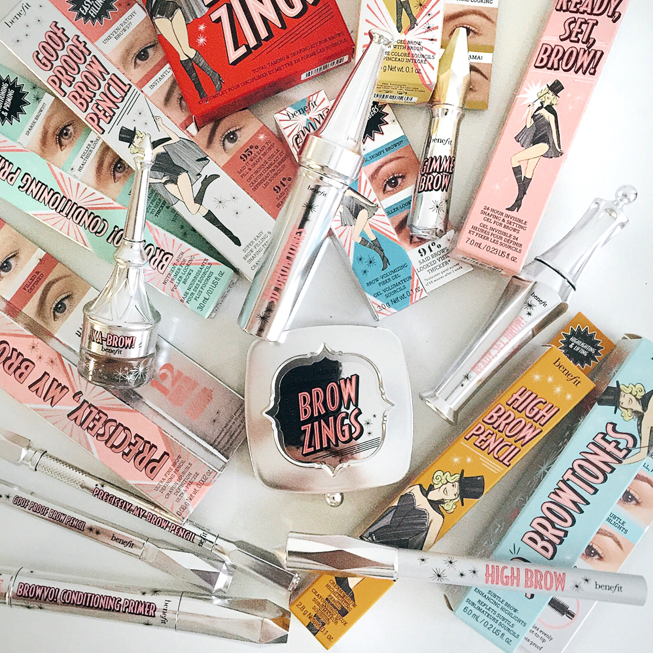 Benefit Brow Collection 2016