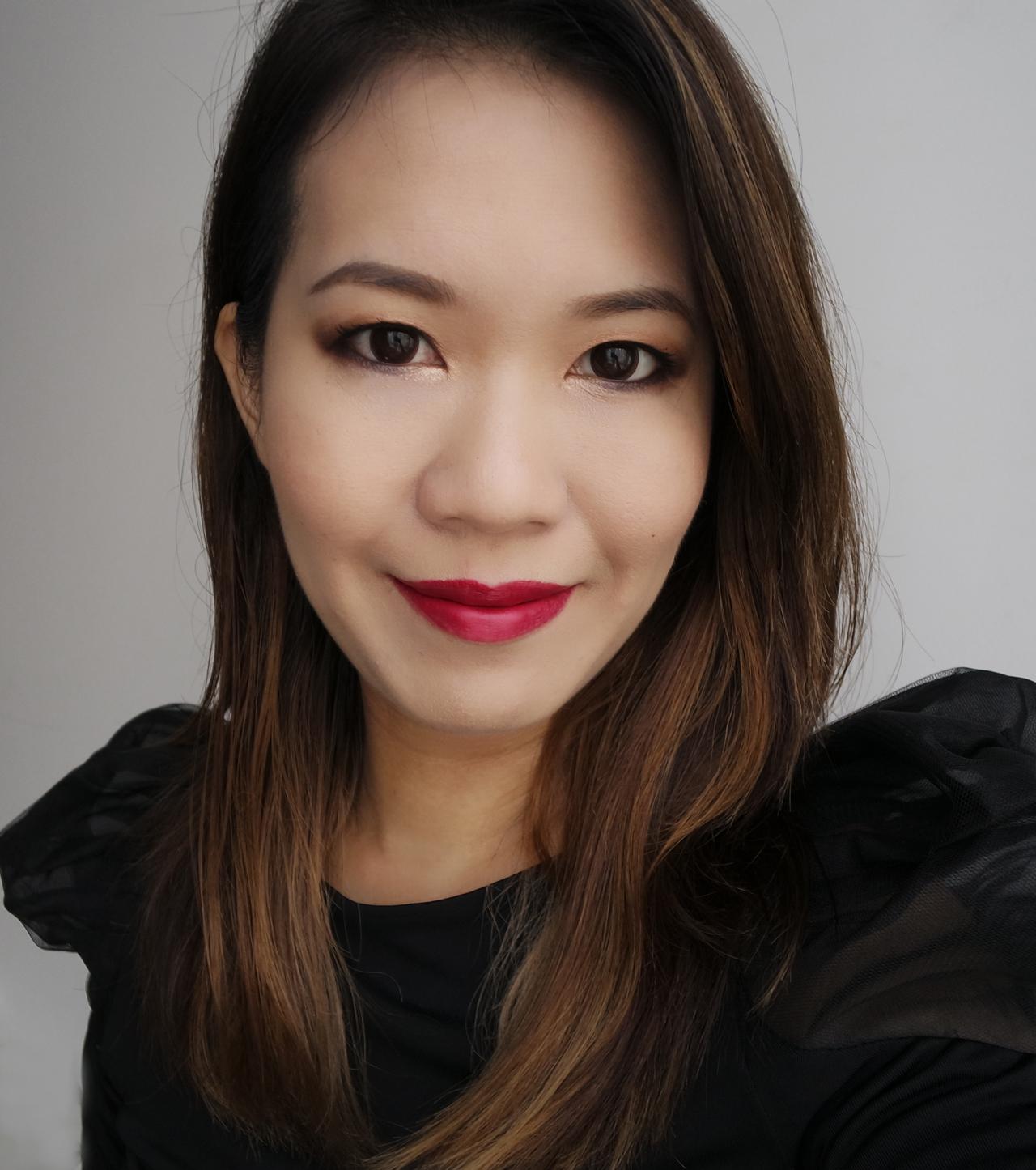Chanel Rouge Allure Ink 150 Luxuriant makeup look