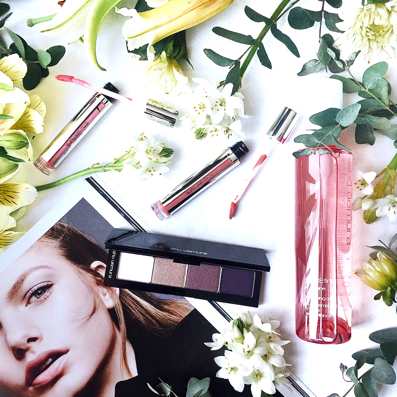 Shu Uemura Vision of Beauty Vol. 3 Nude Atelier for Fall 2016
