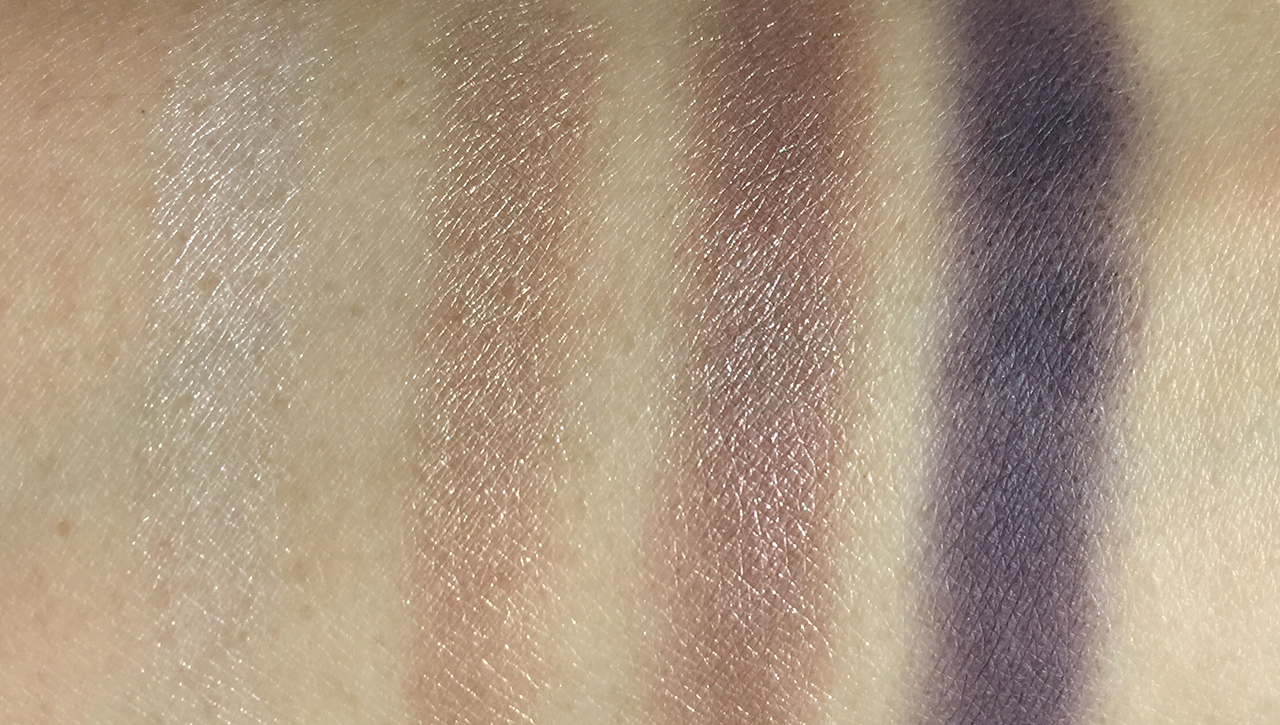 Shu Uemura Vision of Beauty Vol. 3 Nude Atelier Cool Eye Palette swatches