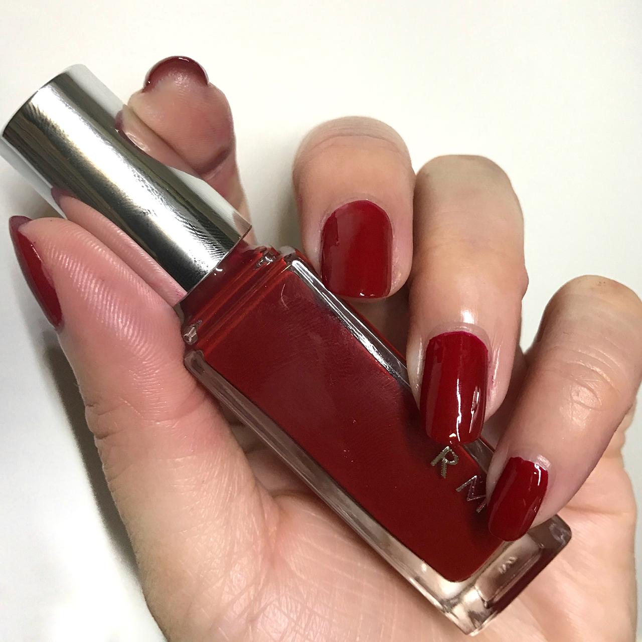 RMK Nail Polish 15(CL) Youth Red nail swatch