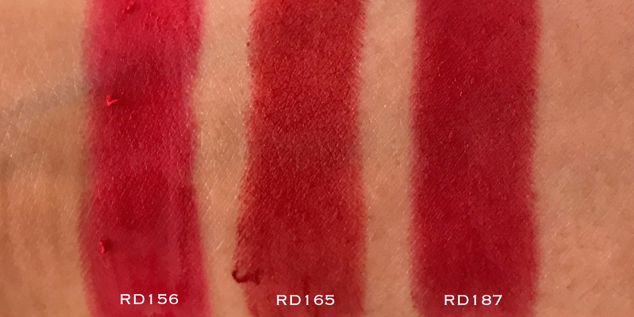 Shu Uemura Rouge Unlimited Supreme Matte - RD swatches