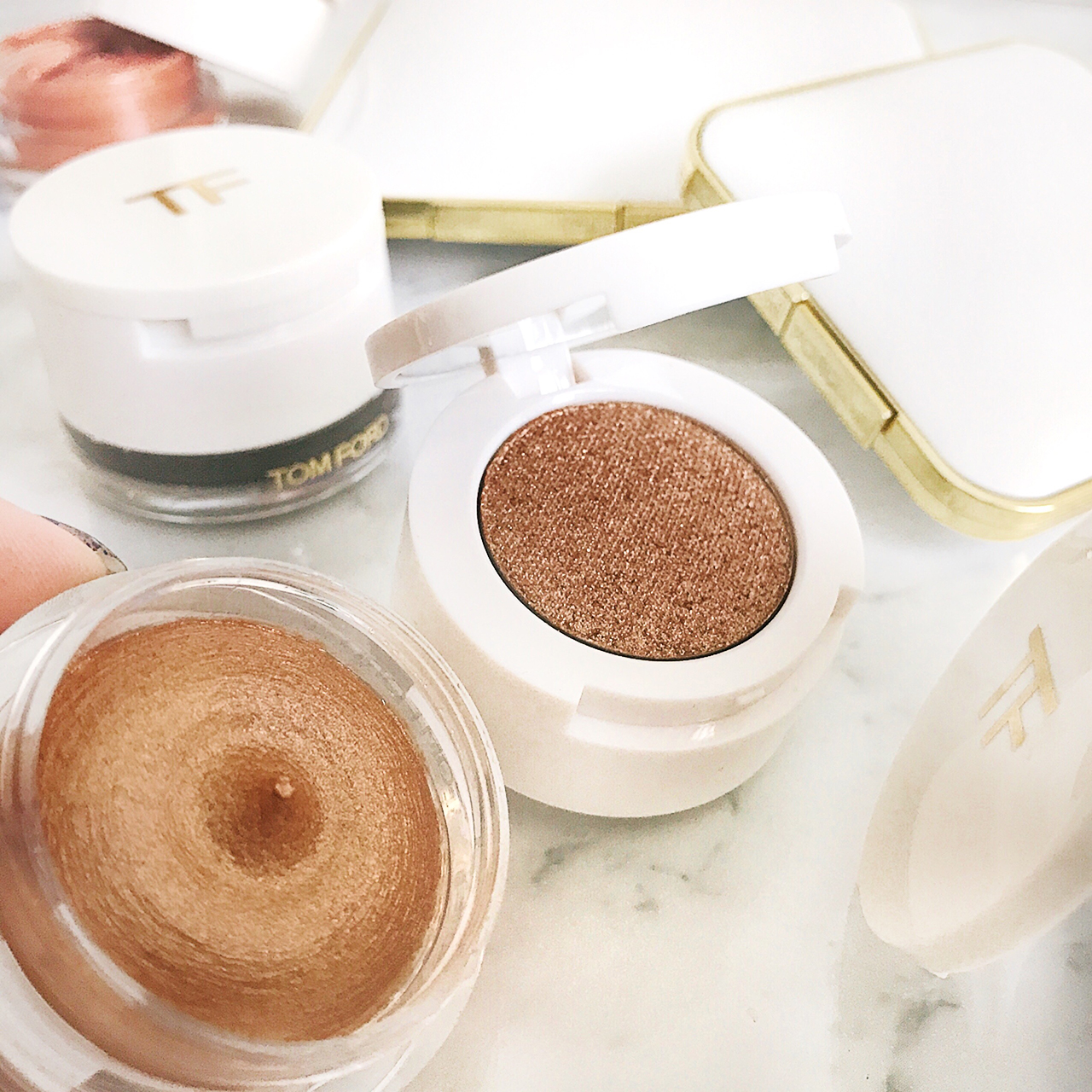 Tom Ford Sun Worship Cream & Powder Eye Color