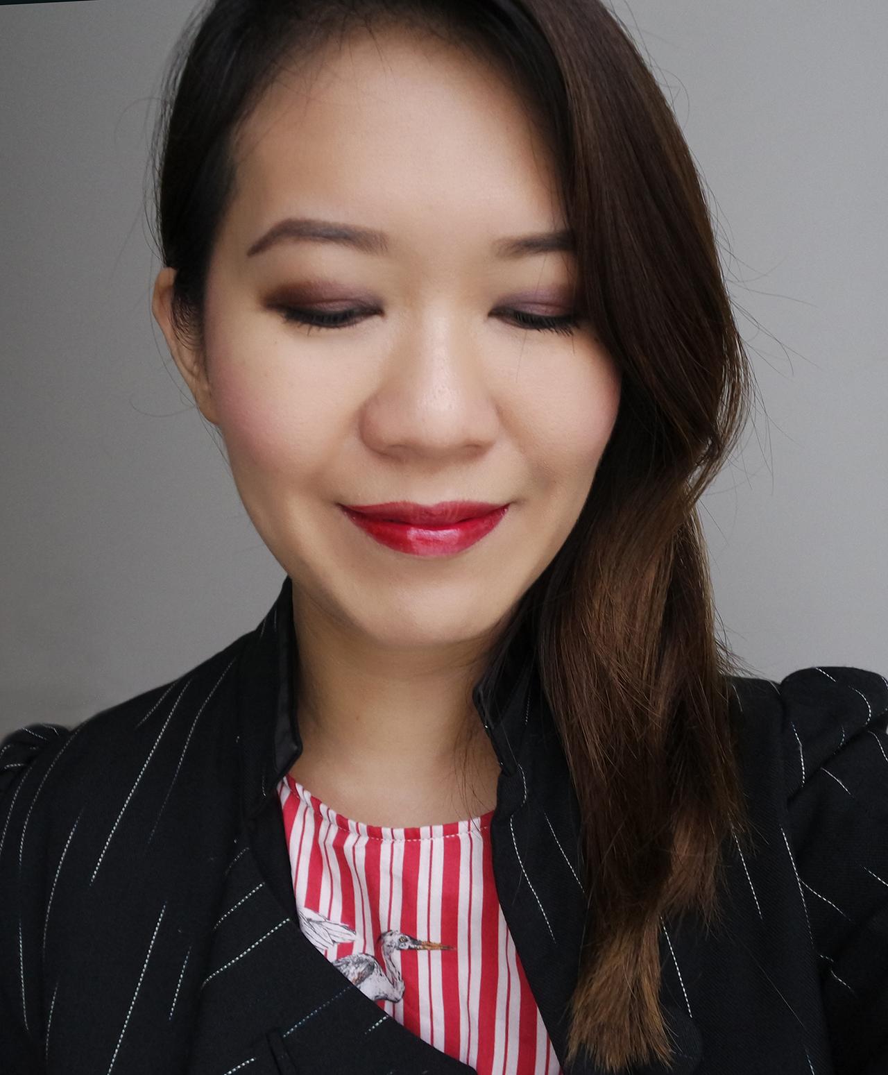 YSL Vernis à Lèvres makeup look