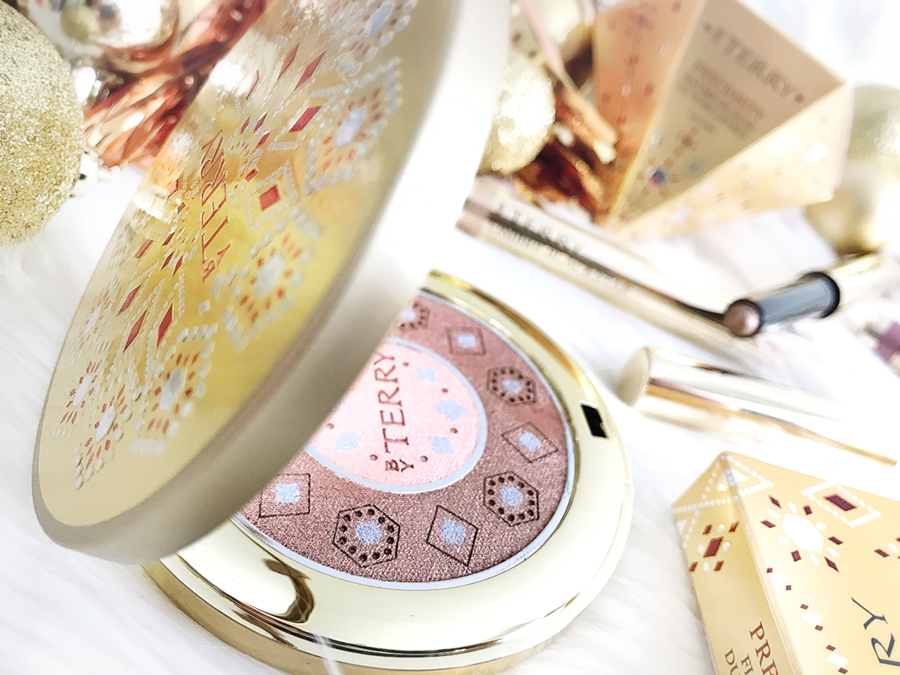 By Terry Preciosity Flash Light Dual Compact for Holiday 2017