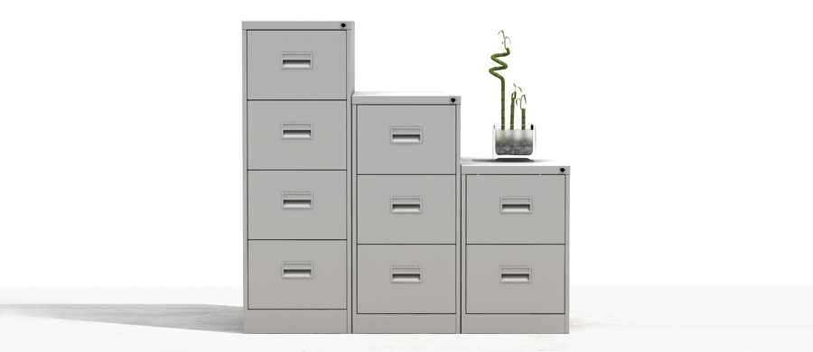 Silverline Office Equipment Midi Filing Cabinets