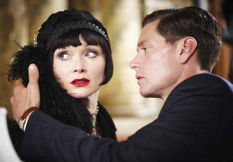 Miss Fisher and DI Jack Robinson Photo: Acorn