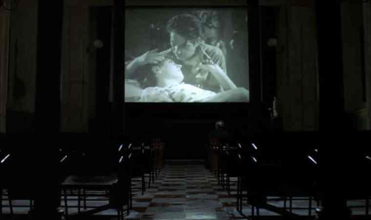 Cinema Paradiso kiss