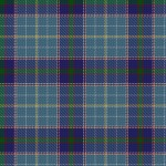 A photo of the Texas Blue Bonnet Tartan