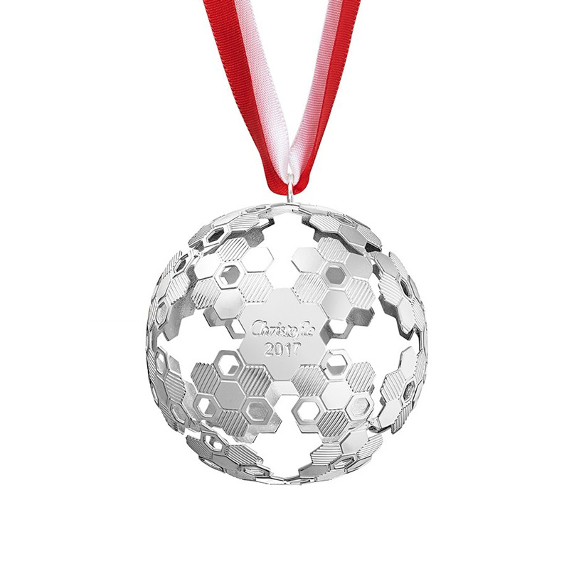 Christofle Annual Christmas Ball Ornament 2017 Christmas Ornament