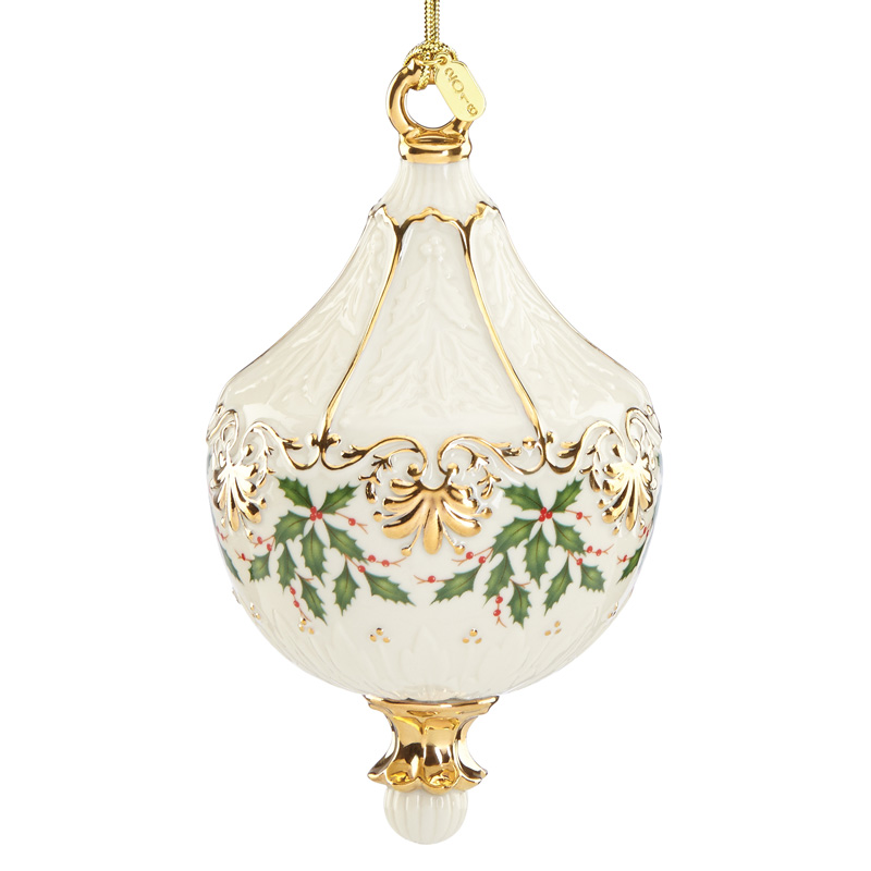 Lenox Annual Holiday Ornament 2016 Lenox Christmas Ornaments