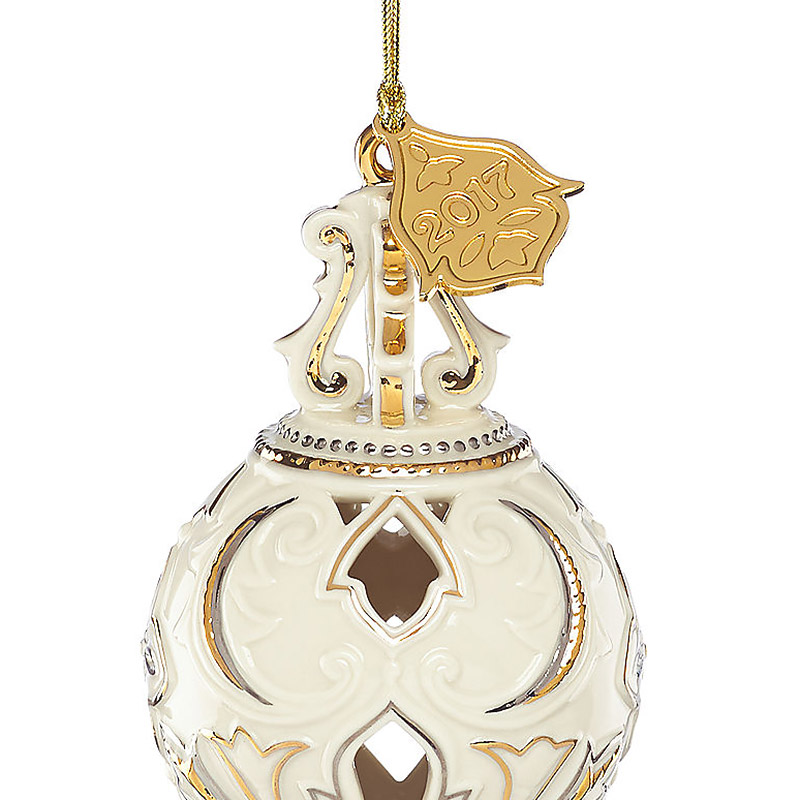 Lenox Christmas Annual Ornament 2017 Lenox Christmas Ornaments