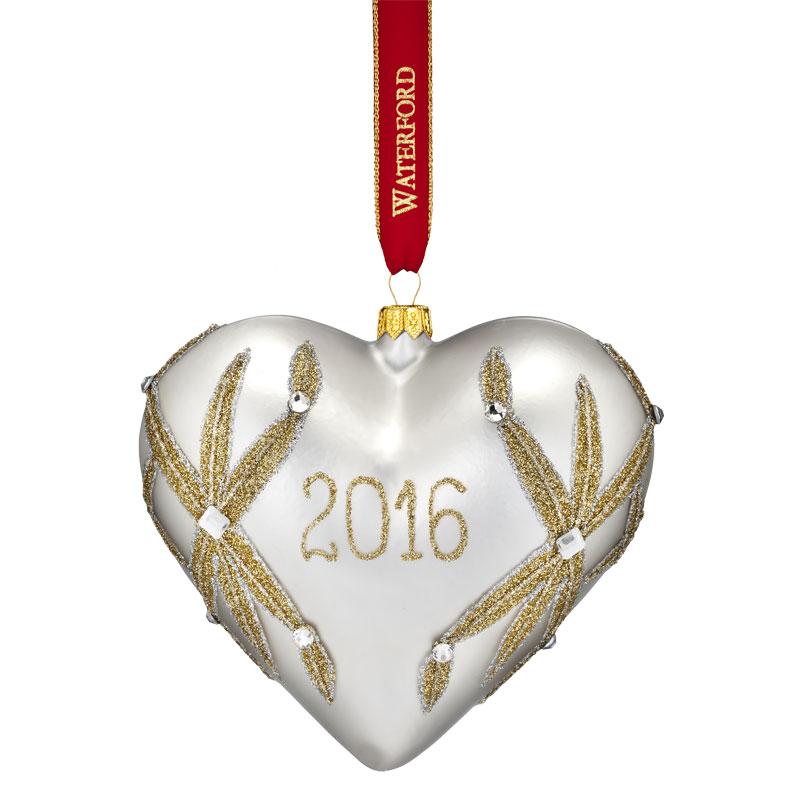 crystal christmas ornaments clearance