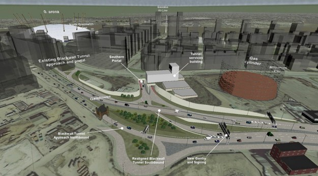 Silvertown Tunnel south proposal
