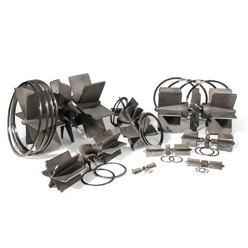 Turbine Flow Meter Rotor and Vane Kits - Simark Controls