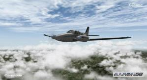 carenado beech 58 xplane