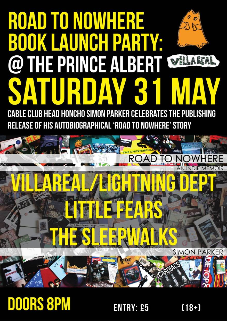 VILLAREALBOOK LAUNCH POSTER