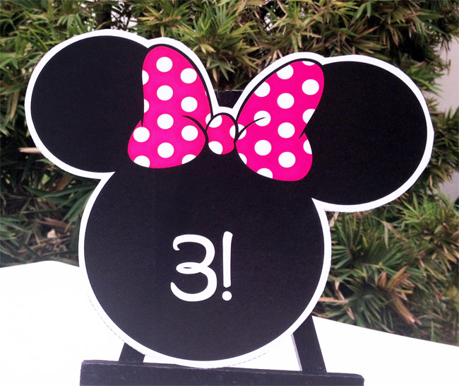MINNIE MOUSE Printable Birthday Party Collection