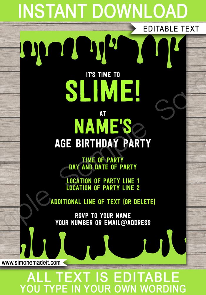 templates for printing invitations