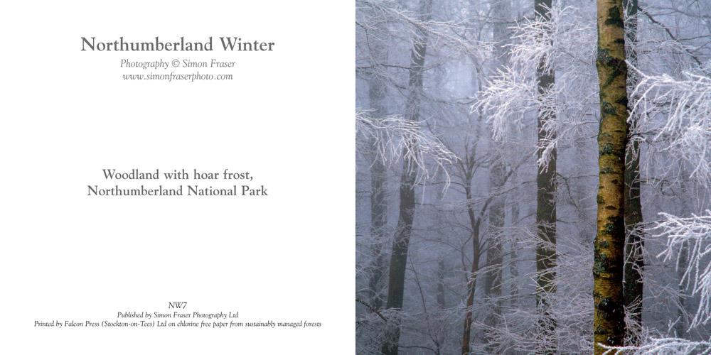 Shop - Christmas Cards Northumberland Winter - Simon Fraser Photo
