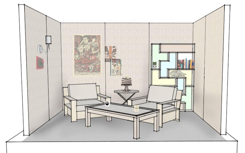 Set Design initial concept
