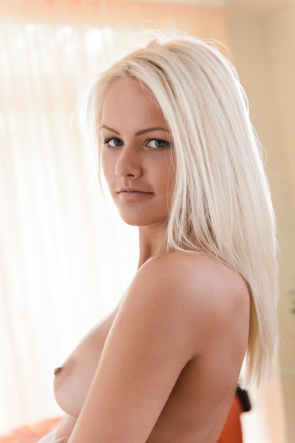 White hot blonde