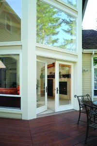 Patio doors make the deck | Simonton Windows & Doors