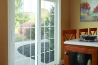 Simonton Sliding Patio Doors in Living Room