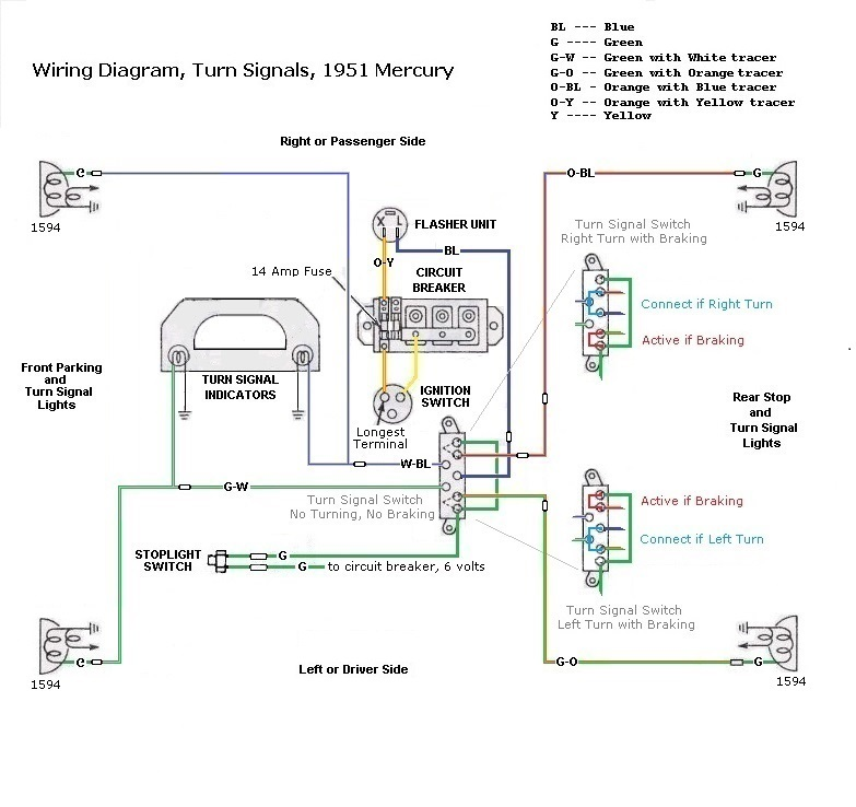1951 Mercury Wiring Diagram Wiring Diagram