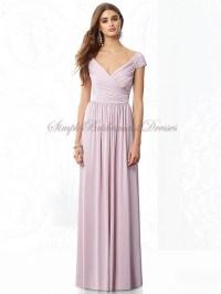 Zipper Floor-length Chiffon Straps A-line Bridesmaid Dress ...