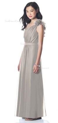 Silver Junior Bridesmaid Dresses