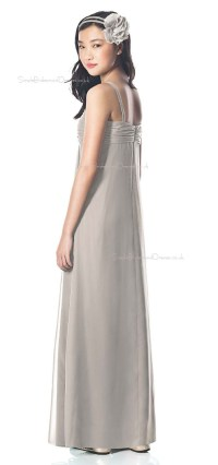 Silver Junior Bridesmaid Dresses - Cheap Wedding Dresses