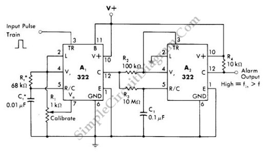 simple home alarm circuit diagram a