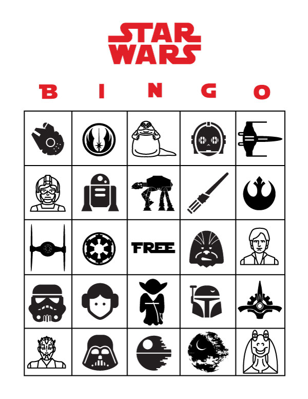 FREE Star Wars Party Printables A No-Stress Way to a Galactic Party
