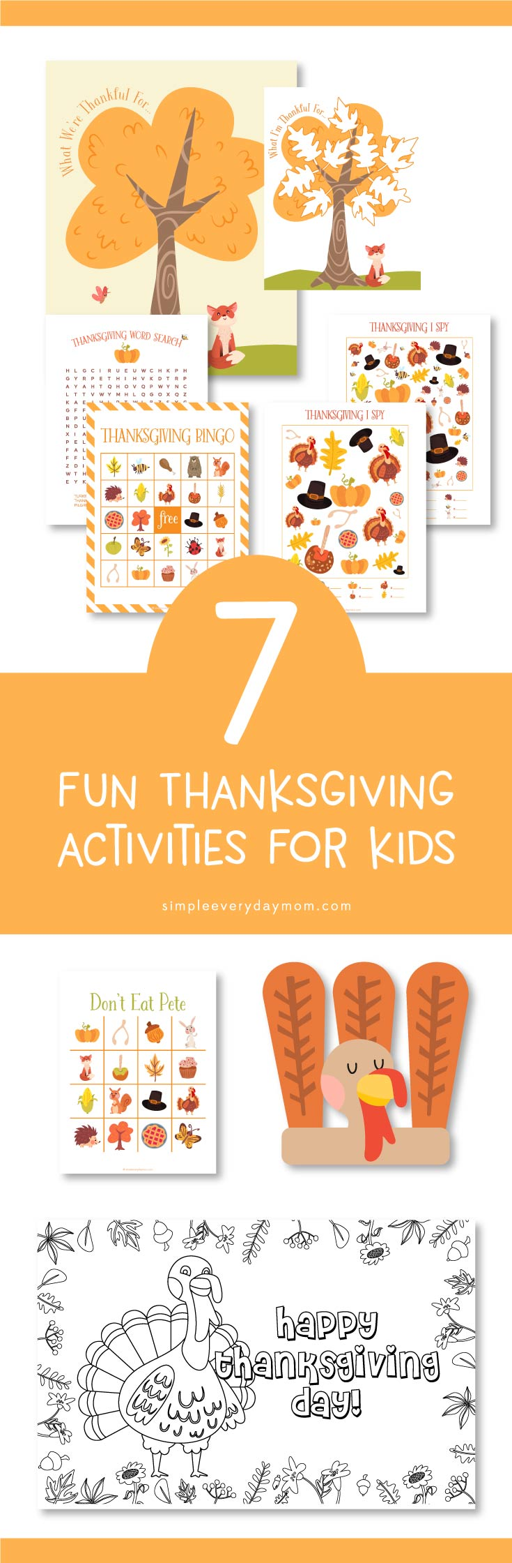 Large Of Thanksgiving Games For Kids