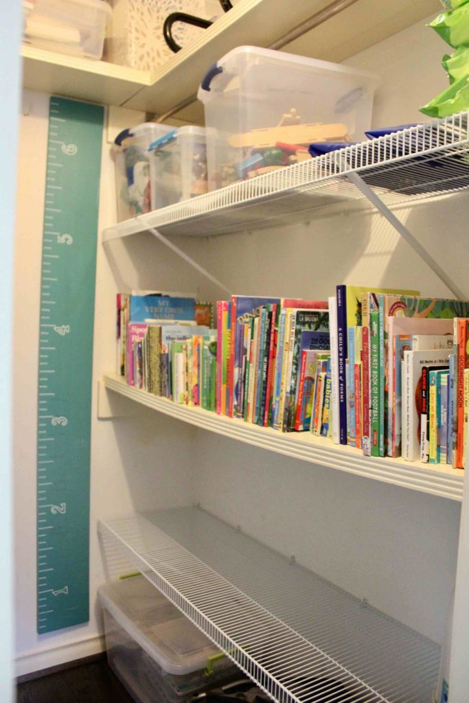 How to Organize Kid\u0027s Books Simple Families