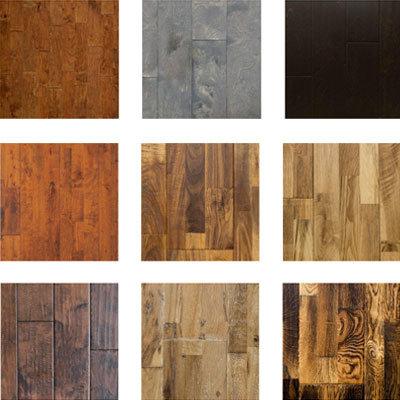 Oolong Aged Hickory Engineered Wood Flooring Part 1