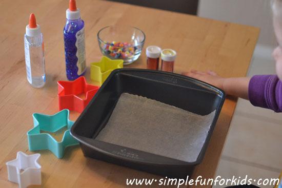 Glue Star Suncatchers Simple Fun For Kids
