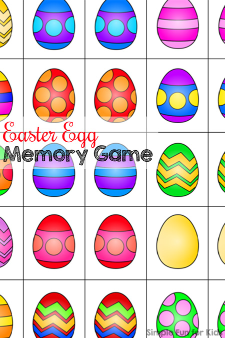 Easter Egg Memory Game - Simple Fun for Kids