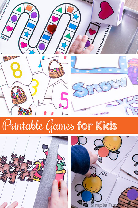 Printable Games for Kids - Simple Fun for Kids