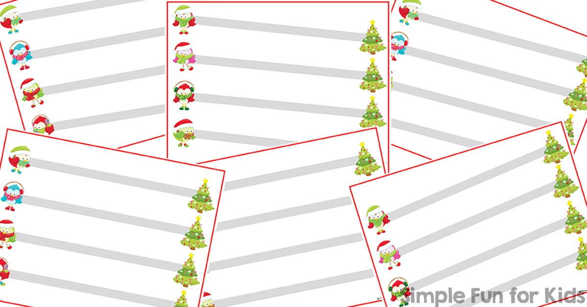 Printable Writing Lines Templatebillybullock – Printable Writing Lines