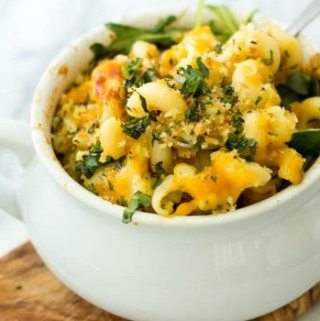 Green Goddess Mac and Cheese
