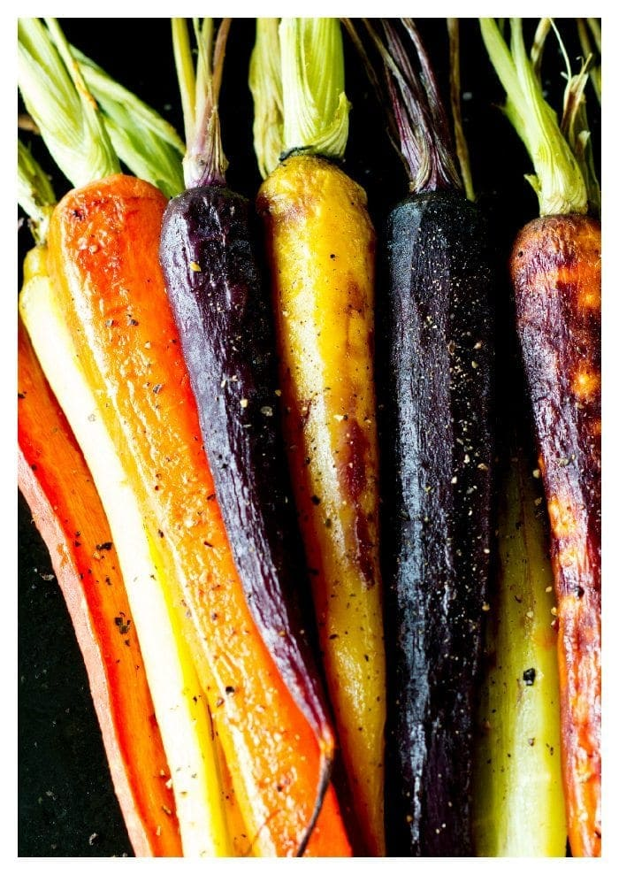 honey roasted carrots from SimpleHealthyKitchen.com # healthy # side dish