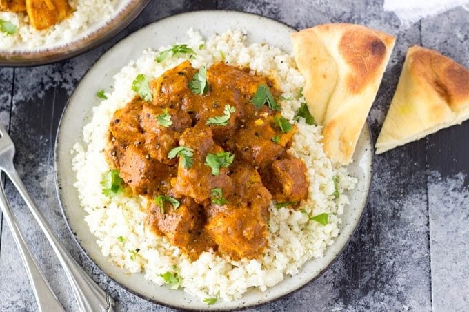 Crockpot indian butter chicken easy healthy simple healthy crockpot butter chicken 1 simplehealthykitchen forumfinder Images