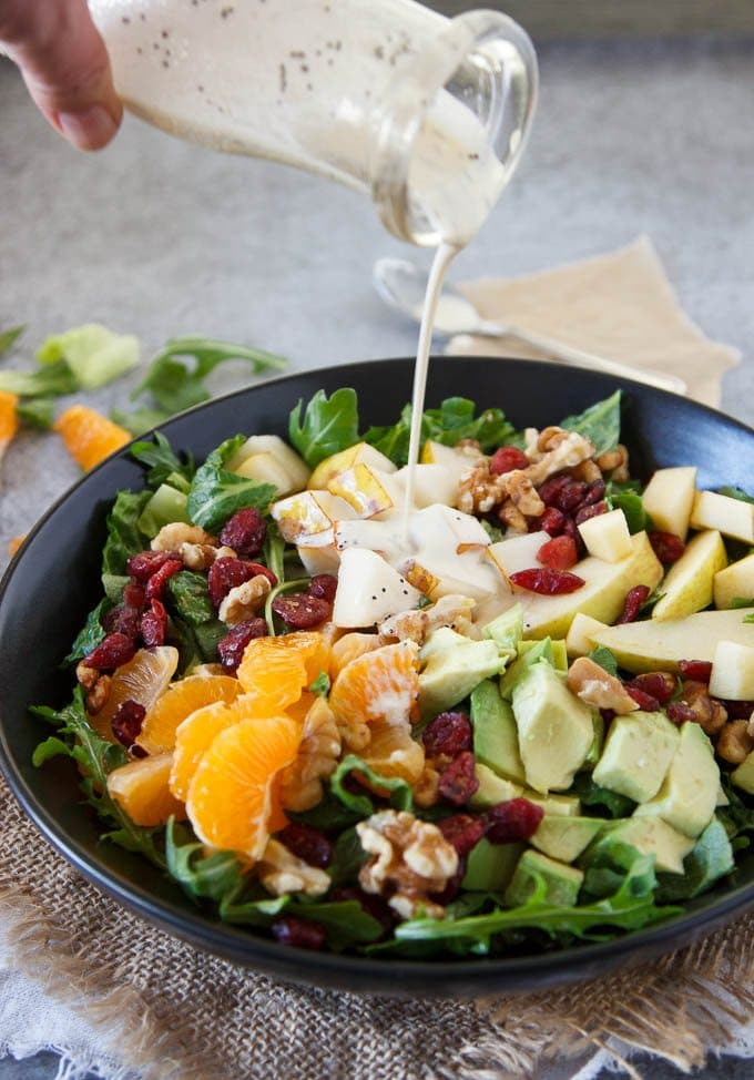 winter_chopped_salad _mandarin_poppyseed_dressing