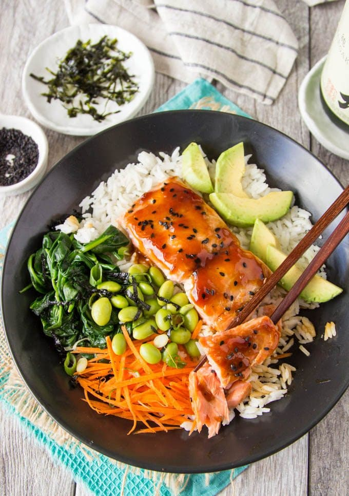 teriyaki-salmon-bowl 4