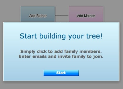 How to create an online family tree