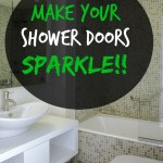 Clean Your Shower Doors Until They Sparkle!