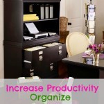 Organize Your Home Office to Increase Productivity